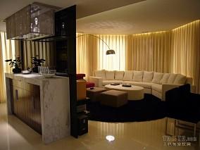 精美面积90平混搭三居玄关装修设计效果图片