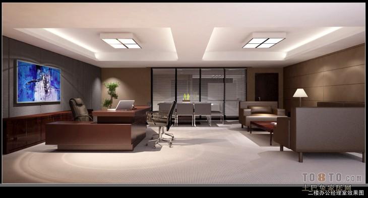 二楼办公总经理室2购物空间其他设计图片赏析