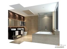 小卫生间瓷砖效果图片