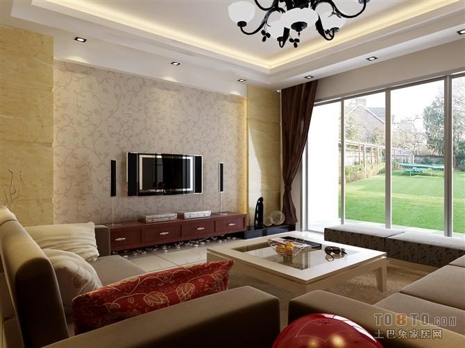 精美二居客厅混搭欣赏图片大全客厅潮流混搭客厅设计图片赏析