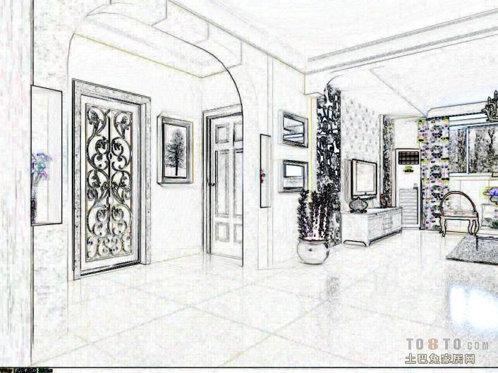 蒋哥客厅潮流混搭客厅设计图片赏析