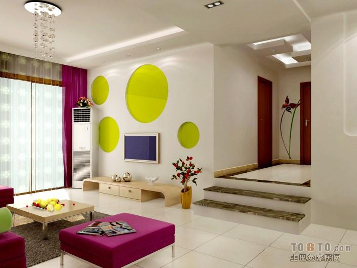 精美95平大小混搭三居装修欣赏图片大全客厅潮流混搭客厅设计图片赏析