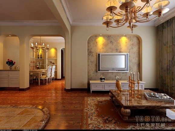 大气75平混搭三居客厅布置图客厅潮流混搭客厅设计图片赏析