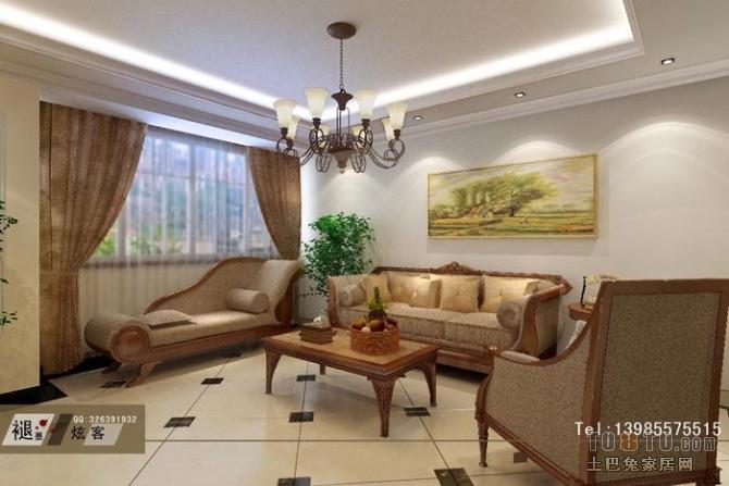 精致52平混搭复式客厅装修效果图客厅潮流混搭客厅设计图片赏析