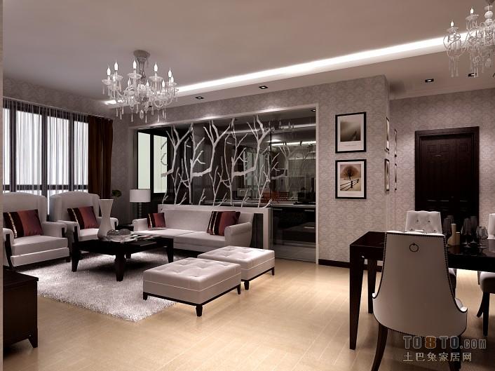 1拷贝客厅潮流混搭客厅设计图片赏析