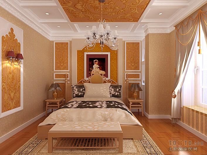 华丽41平混搭复式卧室装修图片卧室潮流混搭卧室设计图片赏析