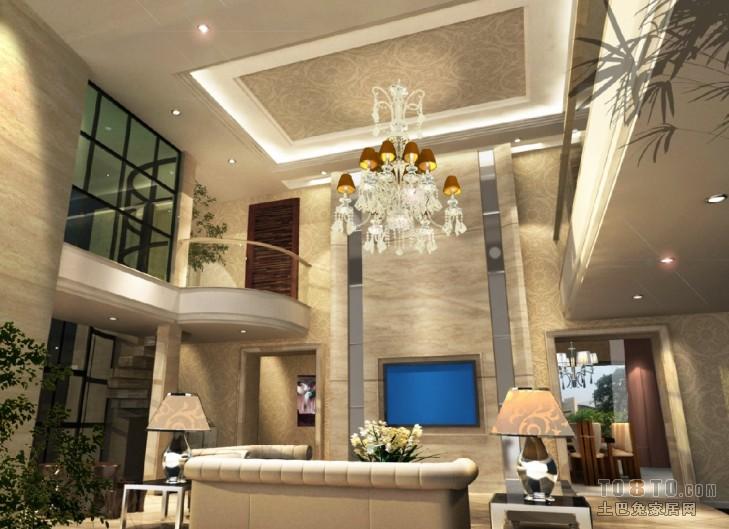 平混搭复式客厅装修效果图客厅潮流混搭客厅设计图片赏析