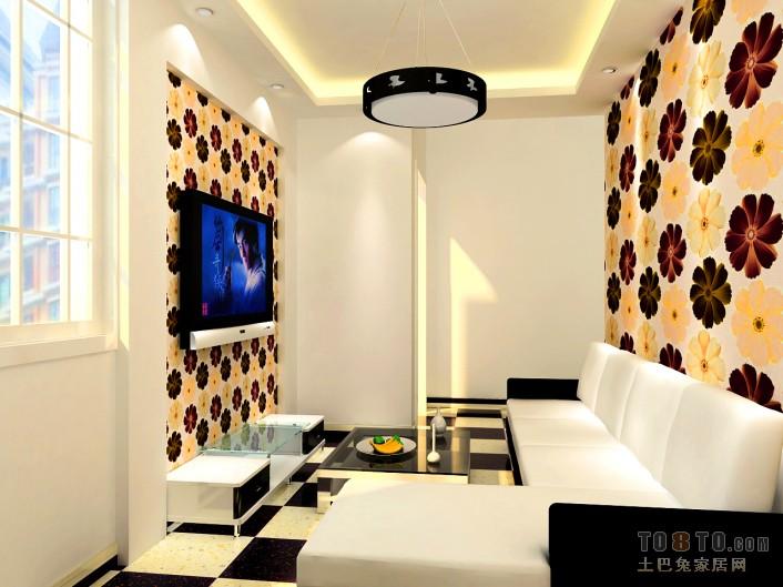 热门混搭小户型客厅装修图片客厅潮流混搭客厅设计图片赏析