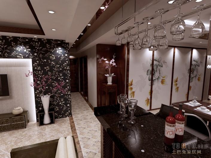 典雅82平混搭三居客厅实景图片客厅潮流混搭客厅设计图片赏析