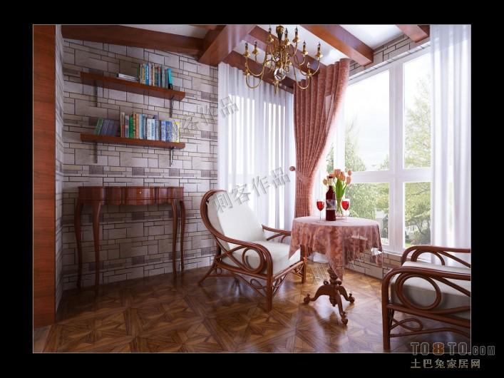 浪漫152平混搭四居装修装饰图功能区潮流混搭功能区设计图片赏析