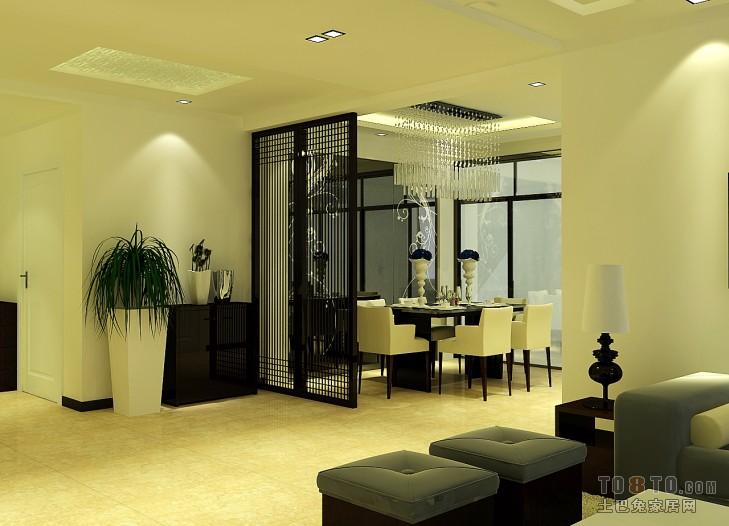 精选混搭3室客厅设计效果图91平客厅潮流混搭客厅设计图片赏析