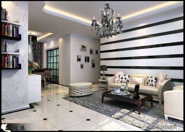 优美129平混搭三居客厅设计图客厅潮流混搭客厅设计图片赏析