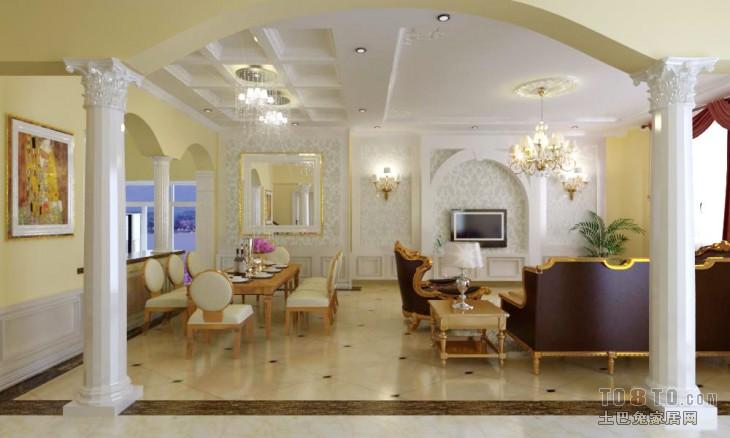 dgg客厅潮流混搭客厅设计图片赏析