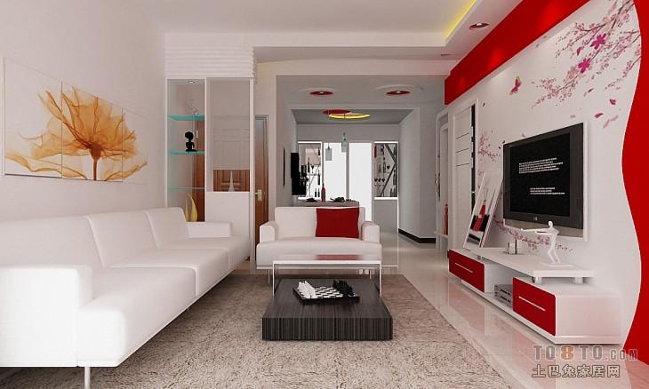 精选77平二居混搭欣赏图客厅潮流混搭客厅设计图片赏析