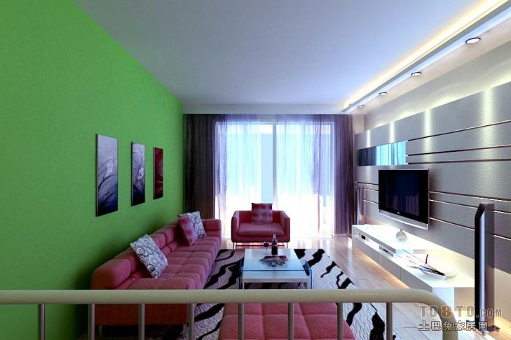刘女士00003客厅潮流混搭客厅设计图片赏析