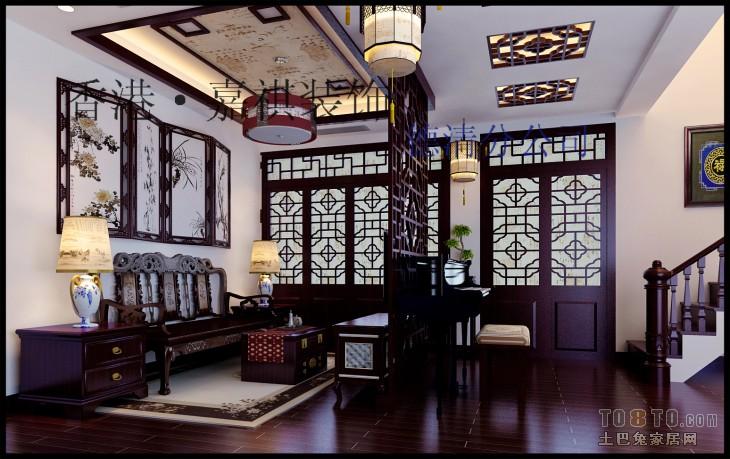 香港·嘉祺(玉墅林枫二楼客厅效果)客厅潮流混搭客厅设计图片赏析