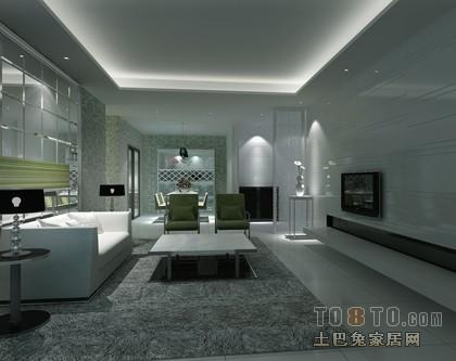 精美103平米三居客厅混搭装饰图片大全客厅潮流混搭客厅设计图片赏析