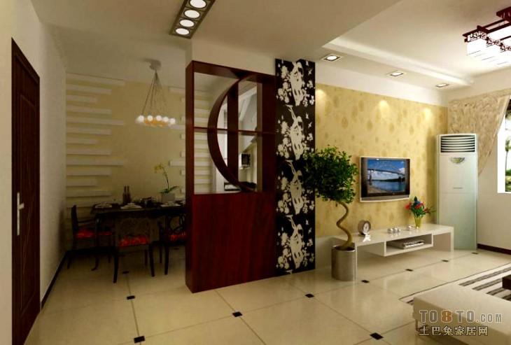 89平米二居餐厅混搭装修设计效果图片欣赏厨房潮流混搭餐厅设计图片赏析
