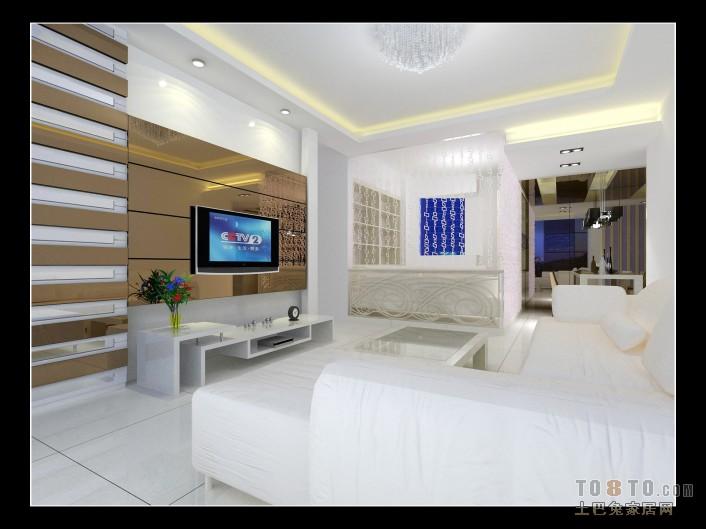 悠雅72平混搭二居客厅设计图客厅潮流混搭客厅设计图片赏析