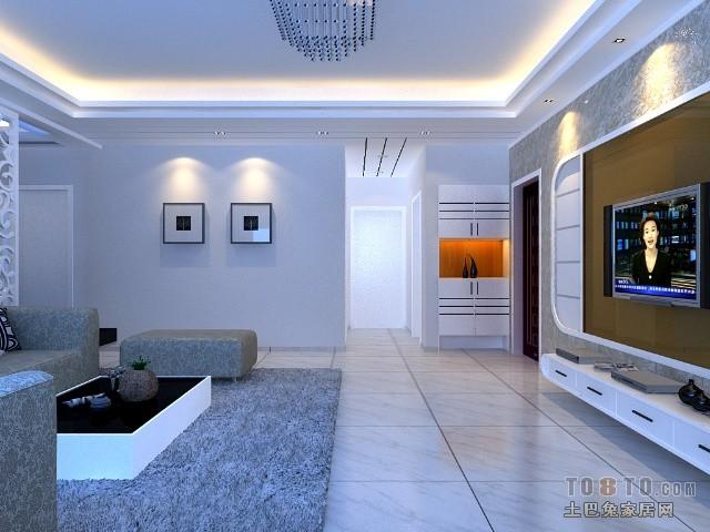 2018精选面积72平混搭二居客厅装修图片客厅潮流混搭客厅设计图片赏析
