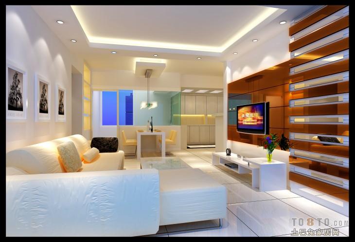 杨生客厅和餐厅1客厅潮流混搭客厅设计图片赏析