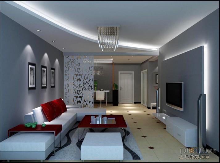 平混搭三居客厅效果图客厅潮流混搭客厅设计图片赏析