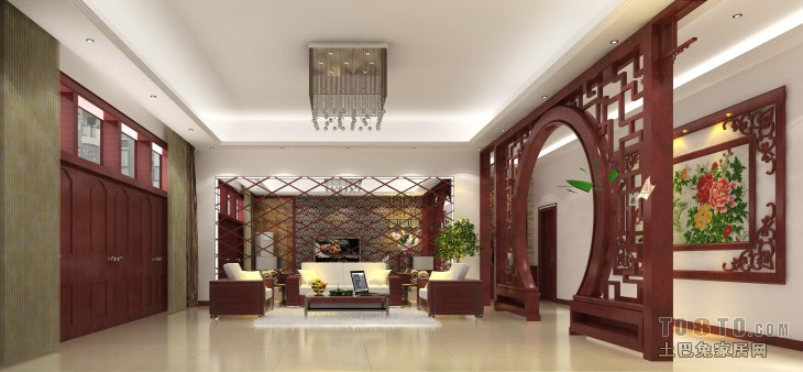 1View07客厅潮流混搭客厅设计图片赏析