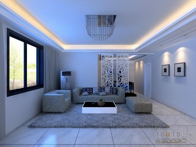 精美大小86平混搭二居客厅设计效果图客厅潮流混搭客厅设计图片赏析