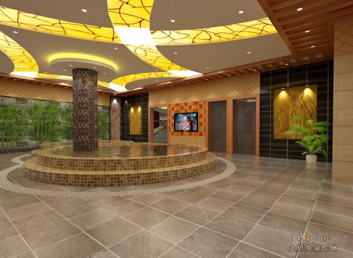 桑拿泳池装修效果图欣赏酒店空间设计图片赏析