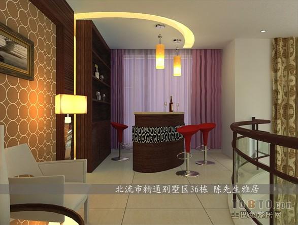 北流精通别墅客厅潮流混搭客厅设计图片赏析