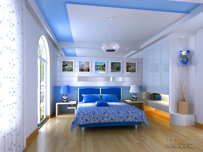 儿子房卧室潮流混搭卧室设计图片赏析