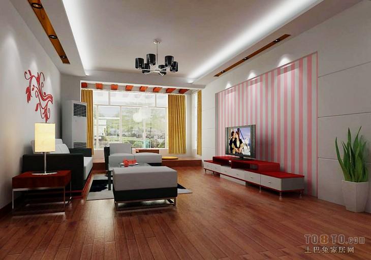 精美混搭3室装修实景图片欣赏109平客厅潮流混搭客厅设计图片赏析