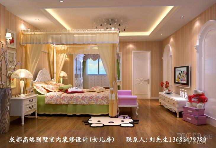 女孩房卧室潮流混搭卧室设计图片赏析
