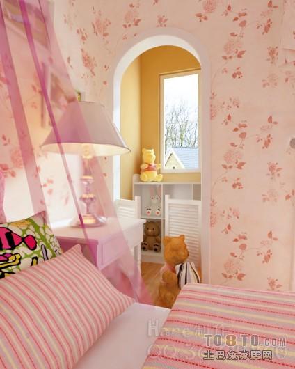 20100510女儿房04卧室潮流混搭卧室设计图片赏析