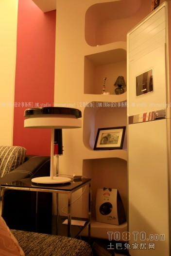 明亮47平混搭复式客厅设计案例客厅潮流混搭客厅设计图片赏析