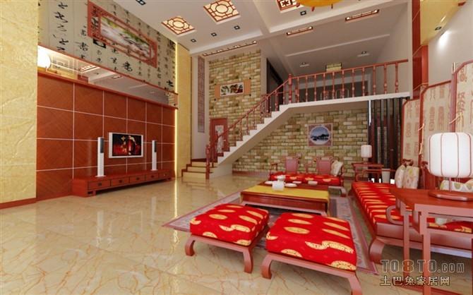 95平米3室客厅混搭实景图片大全客厅潮流混搭客厅设计图片赏析