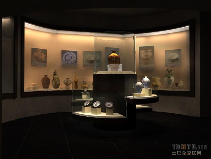 陶瓷中间商业展示其他设计图片赏析