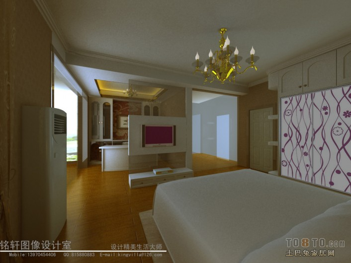主人房02副本客厅潮流混搭客厅设计图片赏析