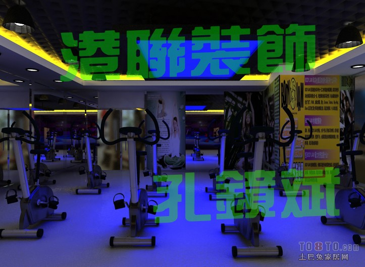 动感单车最终效果图1娱乐空间设计图片赏析