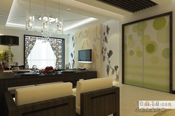 热门三居混搭装修设计效果图片客厅潮流混搭客厅设计图片赏析