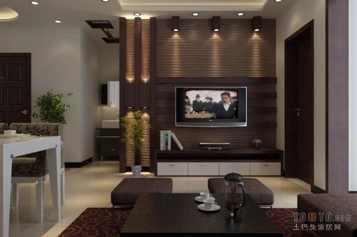 精美78平米二居客厅混搭设计效果图客厅潮流混搭客厅设计图片赏析