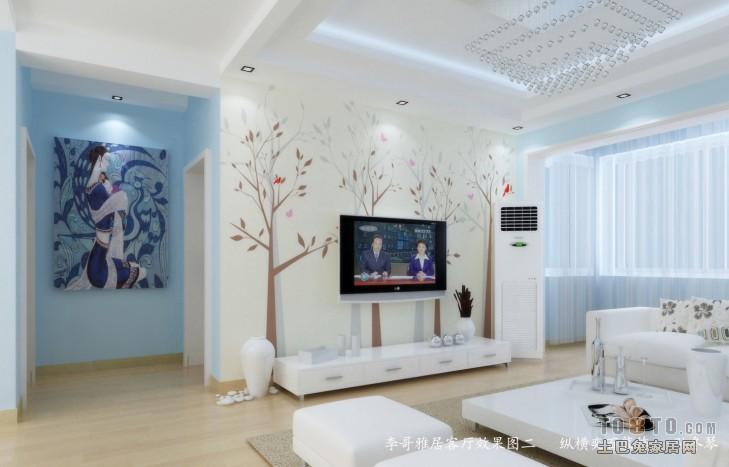 二客厅潮流混搭客厅设计图片赏析