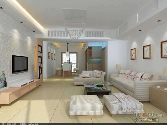 悠雅82平混搭三居客厅效果图片大全客厅潮流混搭客厅设计图片赏析