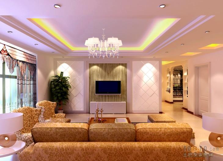客厅副本diaodeng客厅潮流混搭客厅设计图片赏析