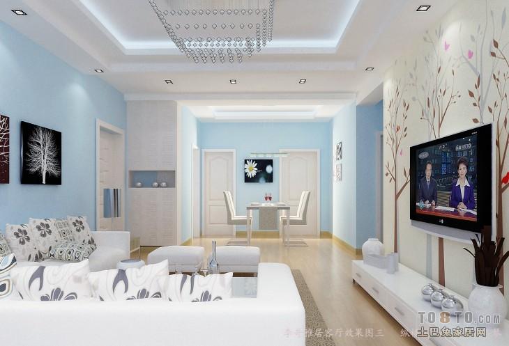 精美90平混搭三居客厅实景图客厅潮流混搭客厅设计图片赏析