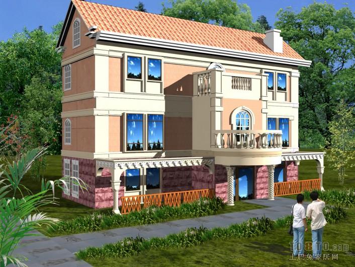 别墅门庭设计1其他设计图片赏析