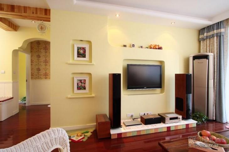 田园风格-回归自然3客厅潮流混搭客厅设计图片赏析