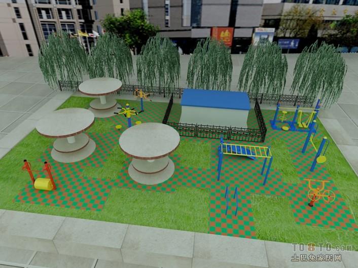 草和砖俯视其他设计图片赏析