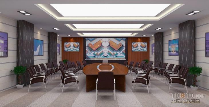 会议室上传网站客厅潮流混搭客厅设计图片赏析