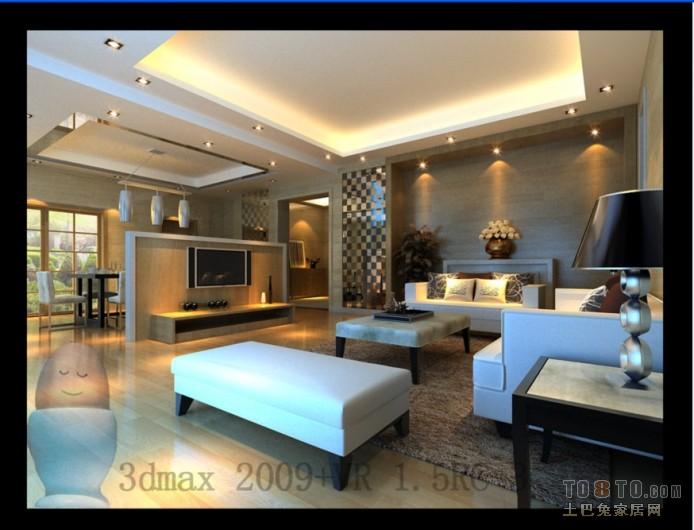 精致91平混搭三居客厅装修案例客厅潮流混搭客厅设计图片赏析